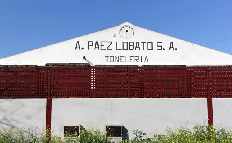 Antonio Páez Lobato cooperage