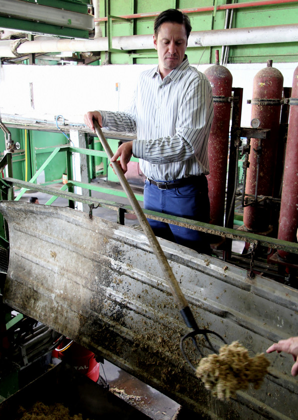 Ben Jones at Distillerie du Simon, Martinique