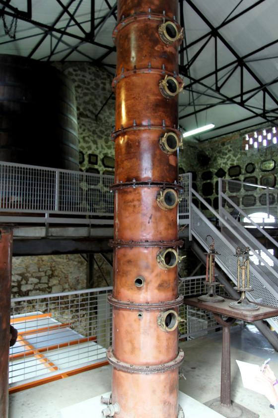 Original column still, Clemént estate, Martinique