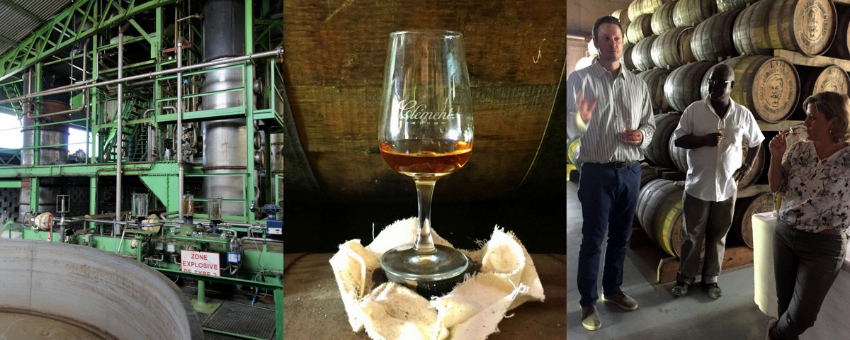 Agricole Immersion at Rhum Clemént and Distillerie du Simon