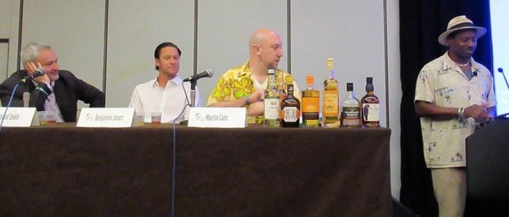 Richard Seale, Benjamin Jones, Martin Cate, Ian Burrell. Tales of the Cocktail 2017