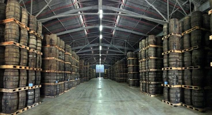 Aging warehouse, Havana Club San Jose distillery