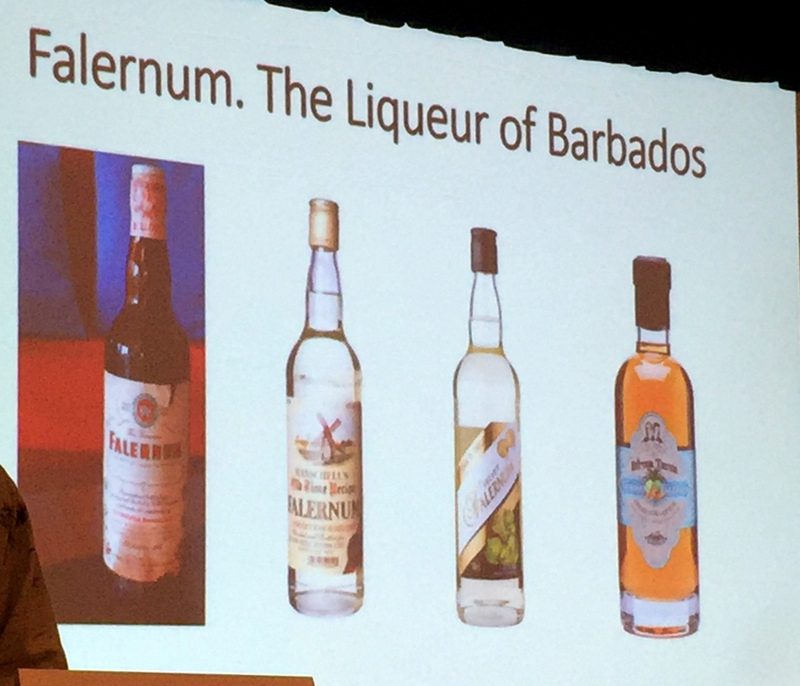 Falernum, Shrubs & Mythical Caribbean Rum Liqueurs session. Tales of the Cocktail 2017