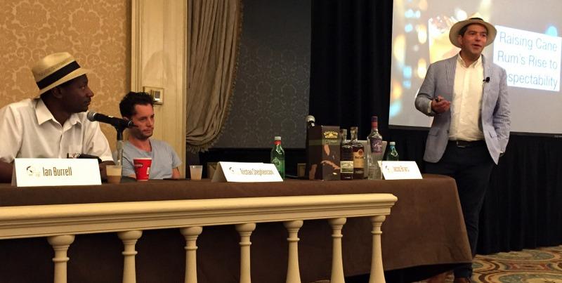 Ian Burrell, Tristan Stephenson, Jacob Briars. Tales of the Cocktail 2017