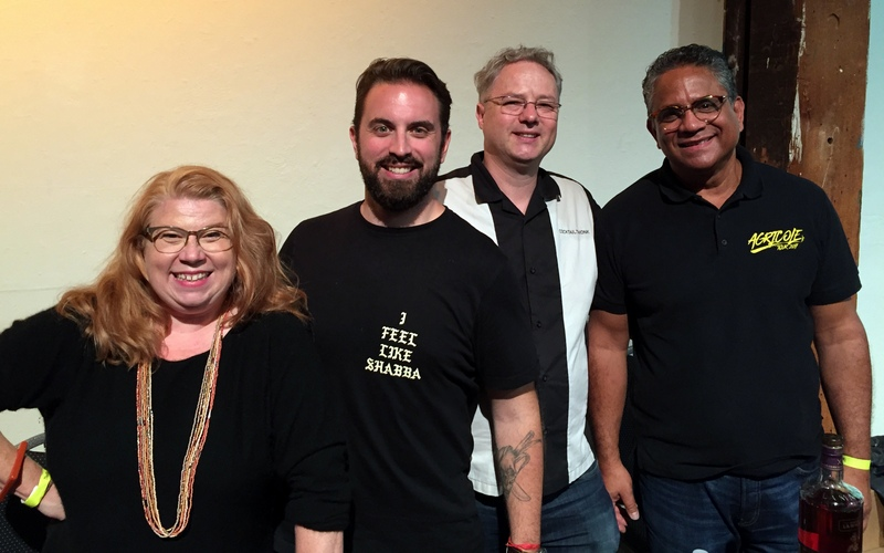 Suzanne Long, Benoît Bail, Cocktail Wonk and Jerry Gitany, California Rum Festival 2017