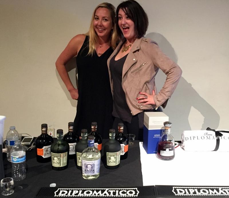 Jane Hurley and Rachel Dorcy, California Rum Festival 2017
