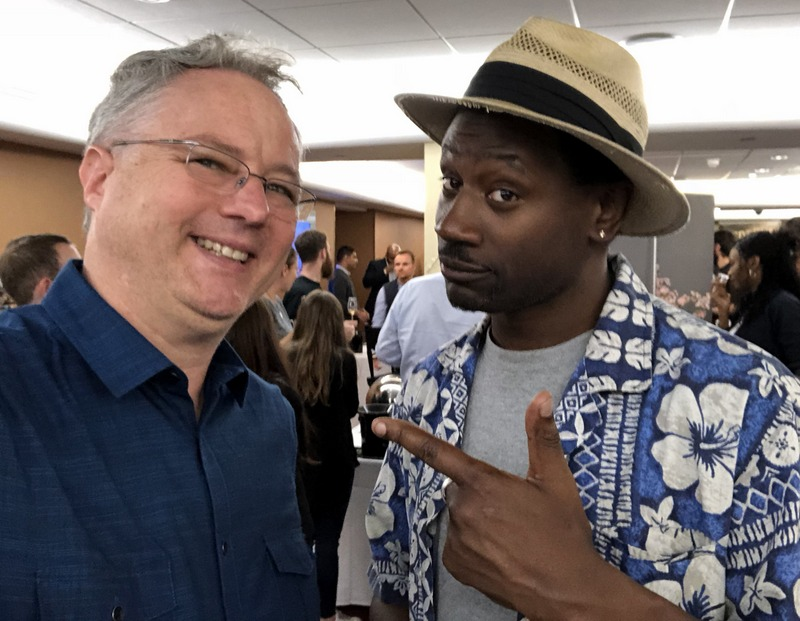 Cocktail Wonk and Ian Burrell, UK RumFest 2017