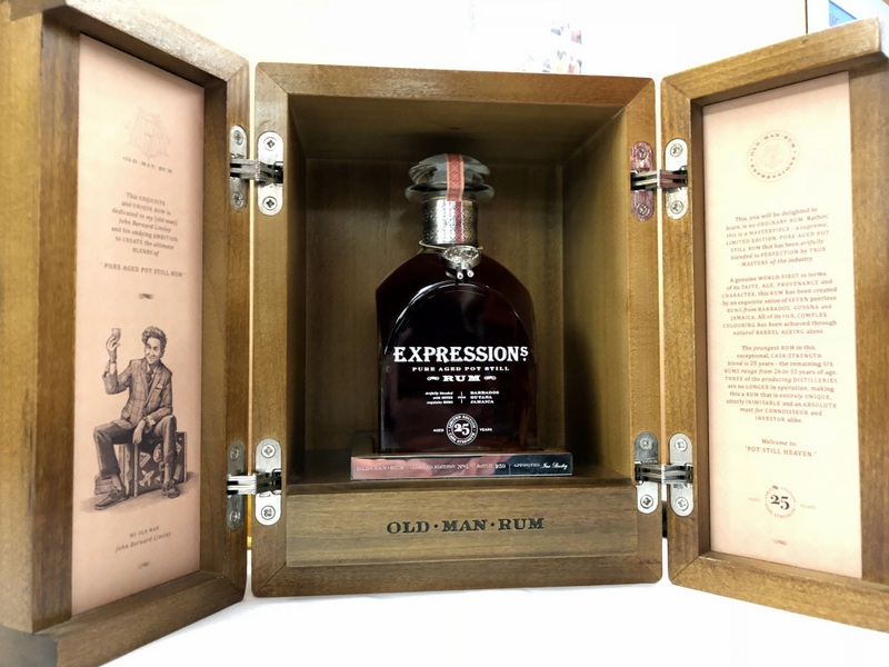 Old Man Rum - A very spendy limited edition at UK RumFest 2017