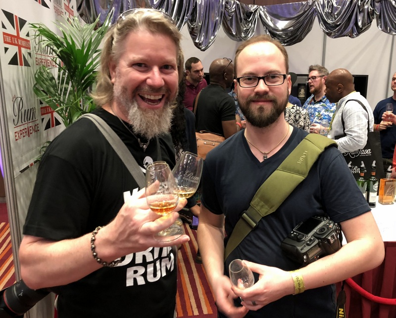 John Gibbons and Tatu Kaarlas (Refined Vices), UK RumFest 2017