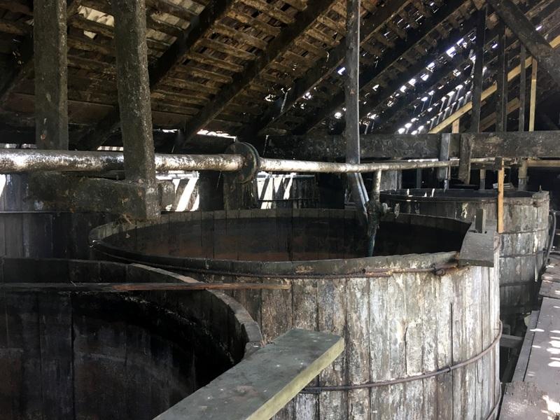Ferment vats, Long Pond, Jamaica. Photo credit: Maison Ferrand