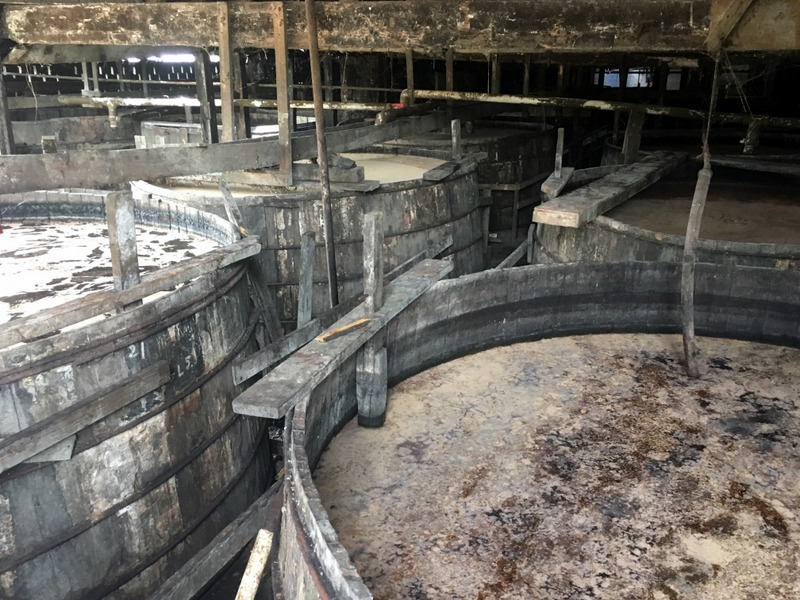 Molasses fermenting, Long Pond, Jamaica. Photo credit: Maison Ferrand