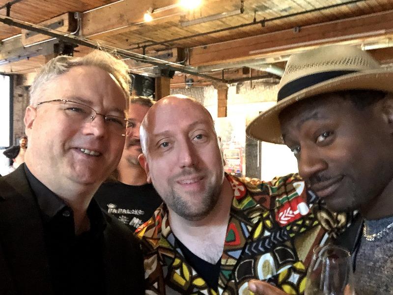 Cocktail Wonk, Martin Cate, Ian Burrell - Velier U.S. Launch Event - Feb. 5, 2018