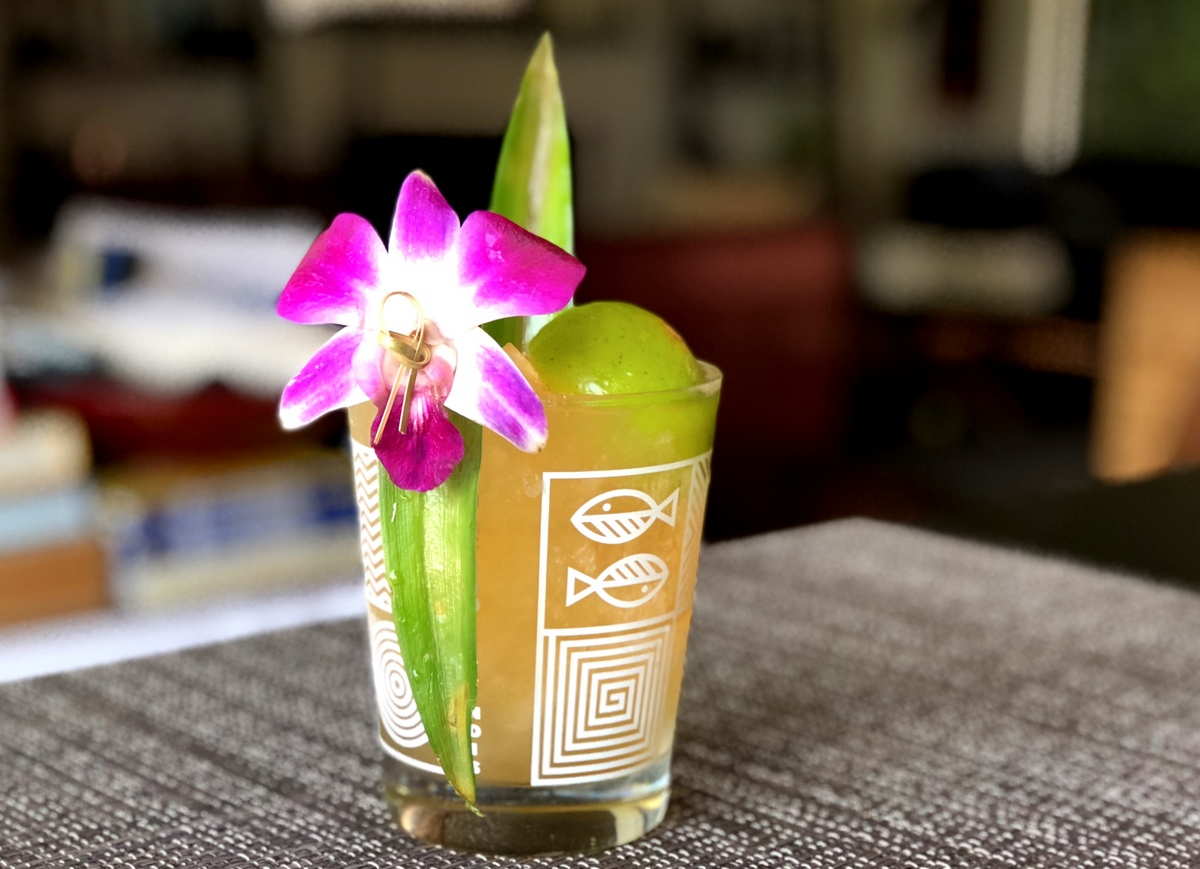 The Reverend's Tai – A Pineapple Twist on the Mai Tai
