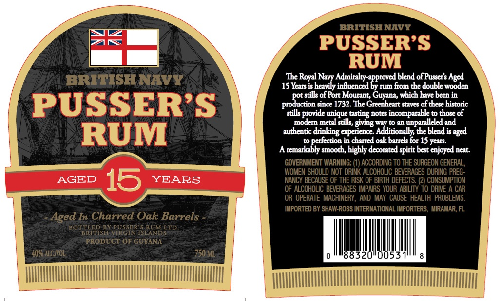 Pusser's Rum Changes Up Blend
