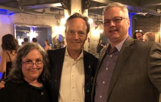 Annene Von Durchgerockt, Alexandre Gabriel, Cocktail Wonk at the Spirited Awards