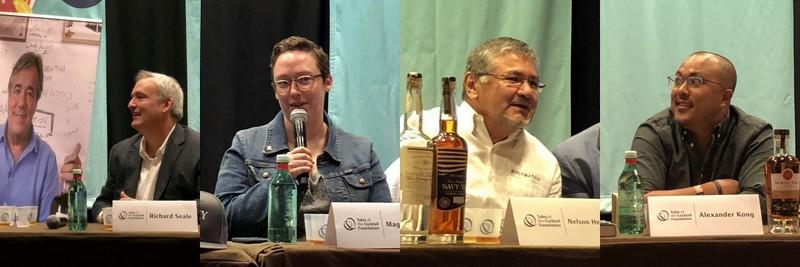 Richard Seale, Maggie Campbell, Nelson Hernandez, Alexander Kong