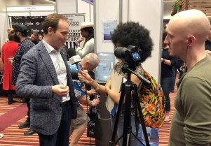 UK RumFest 2018 - Alexandre Gabriel being interviewed