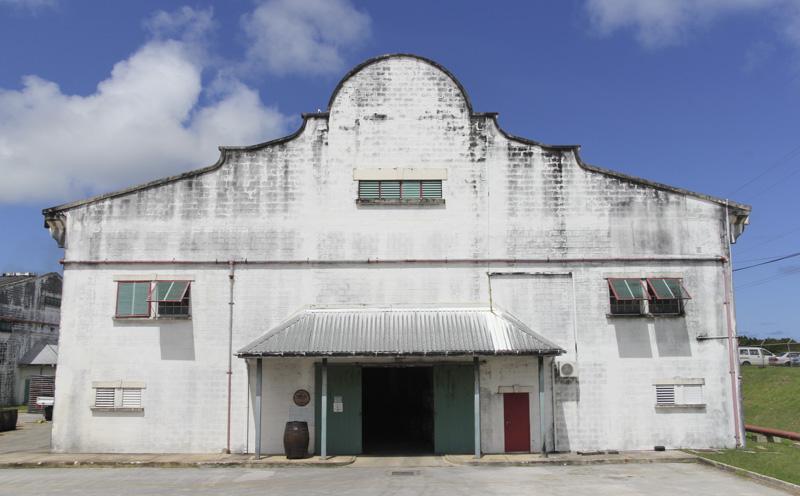 Mount Gay distillery building