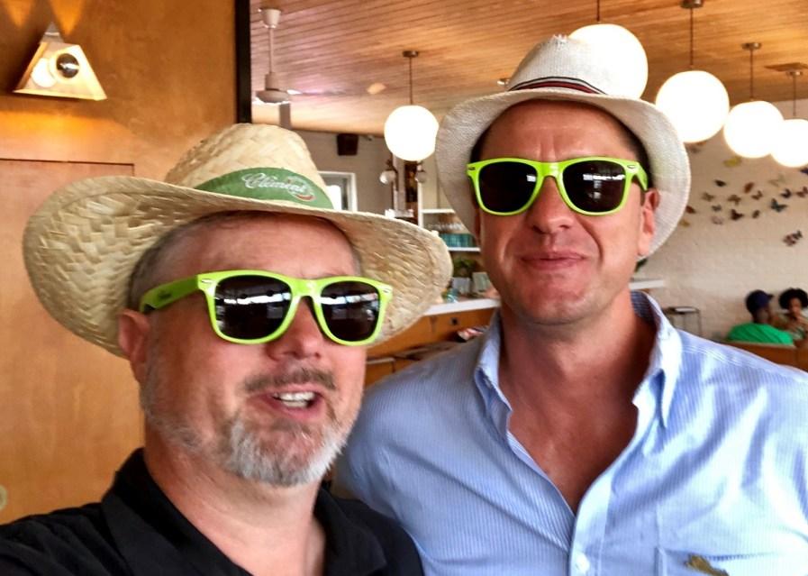 Matt Pietrek and Ben Jones at Tales of the Cocktail 2019