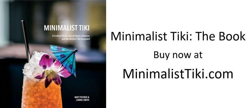 Minimalist Tiki book cover