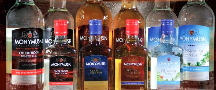 Monymusk (NRJ) rums