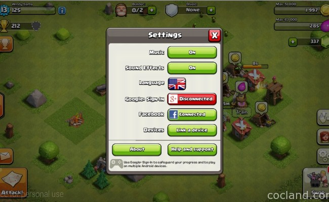 How To Backup And Restore Clash Of Clans Clash Of Clan Helps