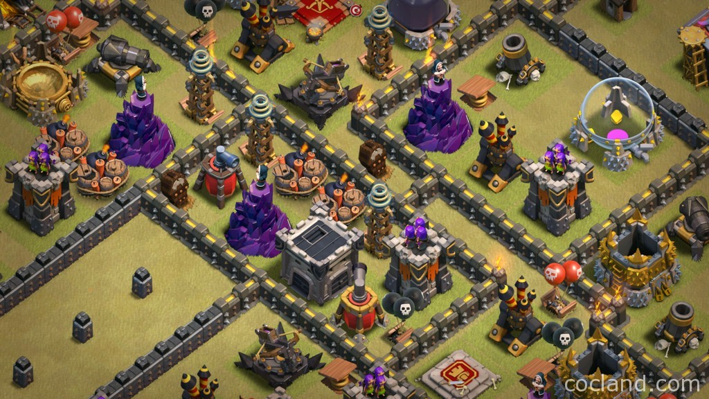 town hall 9 anti 3 custom war base selling clash of clans accounts