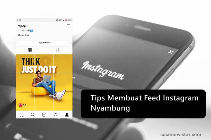 Tips Membuat Feed Instagram Nyambung