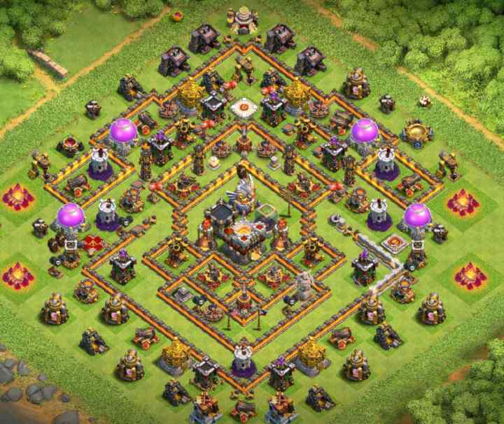 Base COC TH 11 Ultimate Trophy 2020