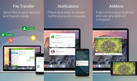 Airdroid , Kumpulan Aplikasi Android Canggih Terbaru 2020