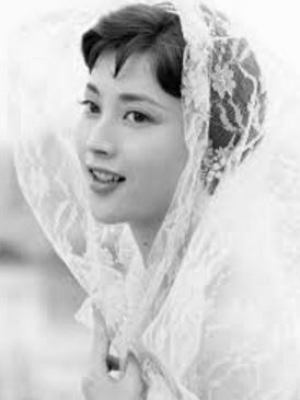 岡田茉莉子の若い頃の画像