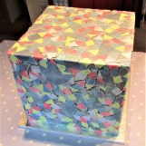 Mosaic Cube Party Cake by Cocoa & Whey Cakes in Winchester, Hampshire