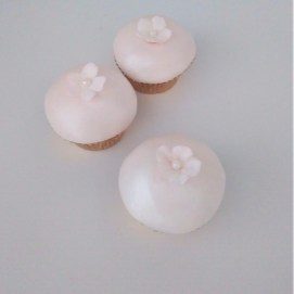 Cherry Blossom Mini Cupcakes by Cocoa & Whey Cakes