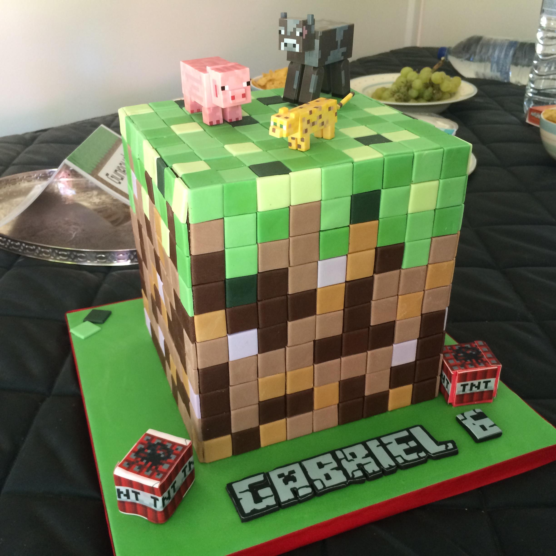 Gabi S 6th Birthday Minecraft Party Coco Amp Co