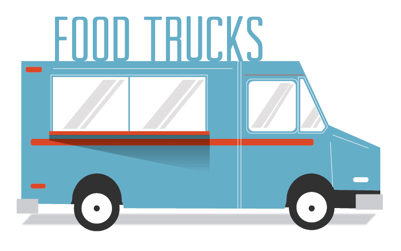 Food Truck Favourites on a Table