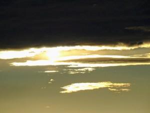Himmel im Sonnenaufgang