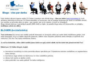 Darba piedāvājums