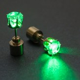 LED auskari (zaļi)