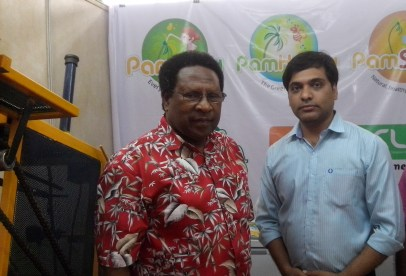 with Dr. Uron N. Salum, Executive Director of Asian and Pacific Coconut Community (APCC)