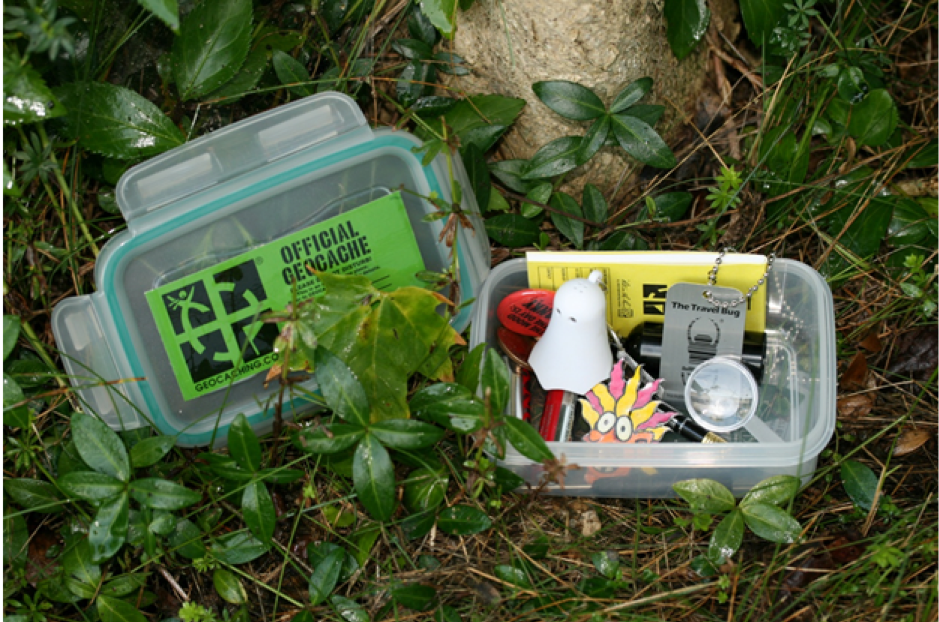 What is geocaching?*
