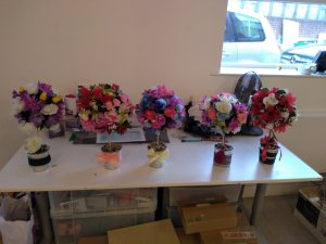 Tuesday 19th November, CoCoCreatives Enterprise – Topiary trees and bath bombs