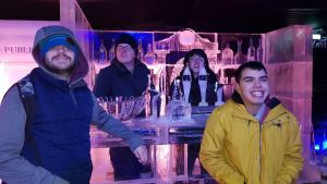 Monday 2nd December, Sports Adventure 1a – Winter Wonderland, Hyde Park