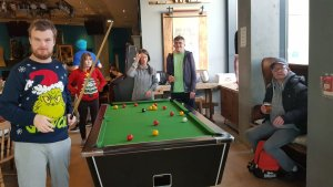 Monday 9th December, Sports Adventure 1 – swimming and pool