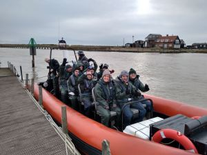 Monday 16th December, Sports Adventure 1 – Sea Blast at Southwold
