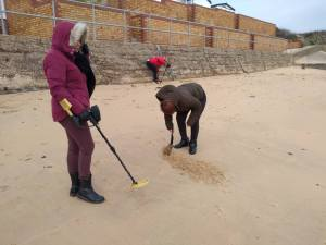 Tuesday 10th December, Sports Adventure 4 – metal detecting, yoga and meditation