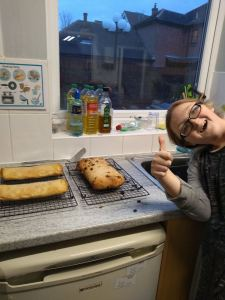 Monday 16th December, Developing Independence 3 – Christmas baking