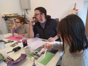Thursday 16th January 2020, CoCoCre8ives – Portfolio building.