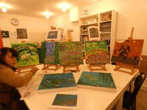 Monday 27th January 2020, CoCoCreatives – Monet painting.