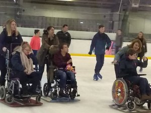 Monday 6th January, Sports adventure 2 – Ice skating.