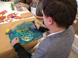 Tuesday 28th January 2020, CoCoEnterprise – Designing book covers and Chinese new year craft.